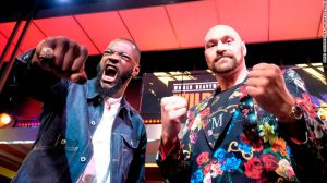 Boxing Deontay Wilder vs Tyson Fury