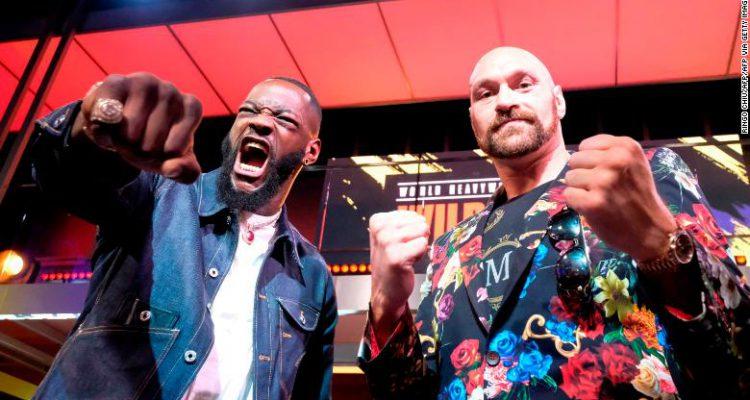 Boxing Deontay Wilder vs Tyson Fury
