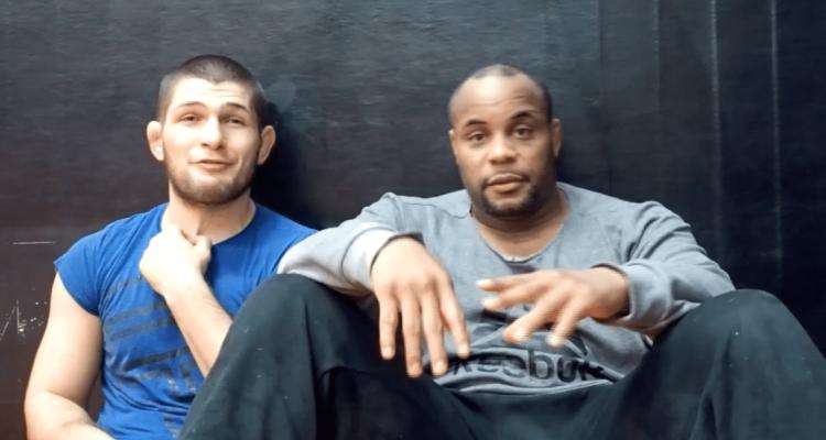UFC Khabib Nurmagomedov and Daniel Cormier