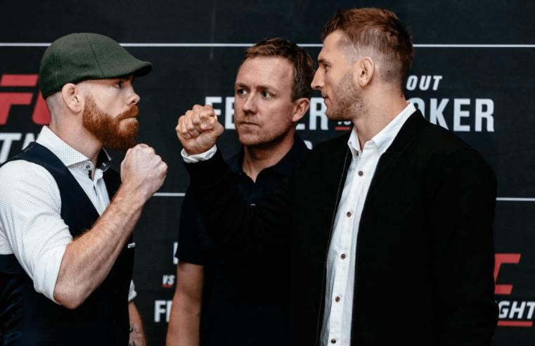 UFC Auckland: Felder vs Hooker Results