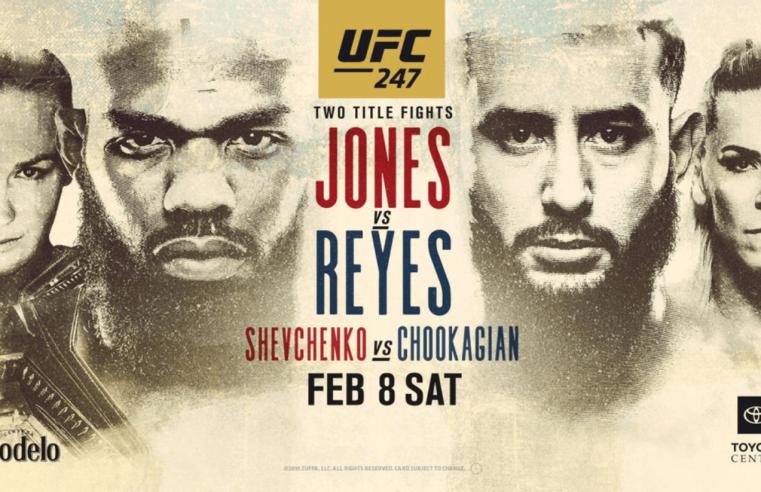UFC 247: Jones vs Reyes Results