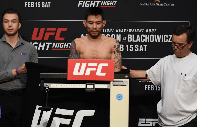 UFC Rio Rancho Weigh-In Results And Video