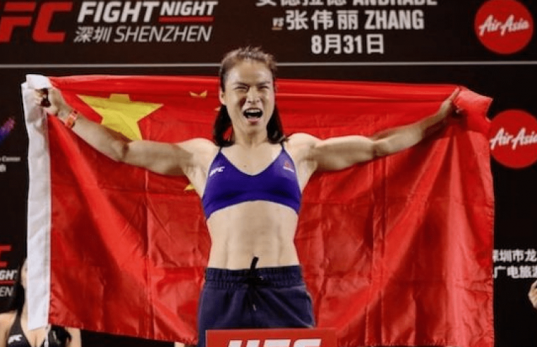 Zhang Weili Gets Hero's Welcome Home, Sets Sight On Second UFC Belt