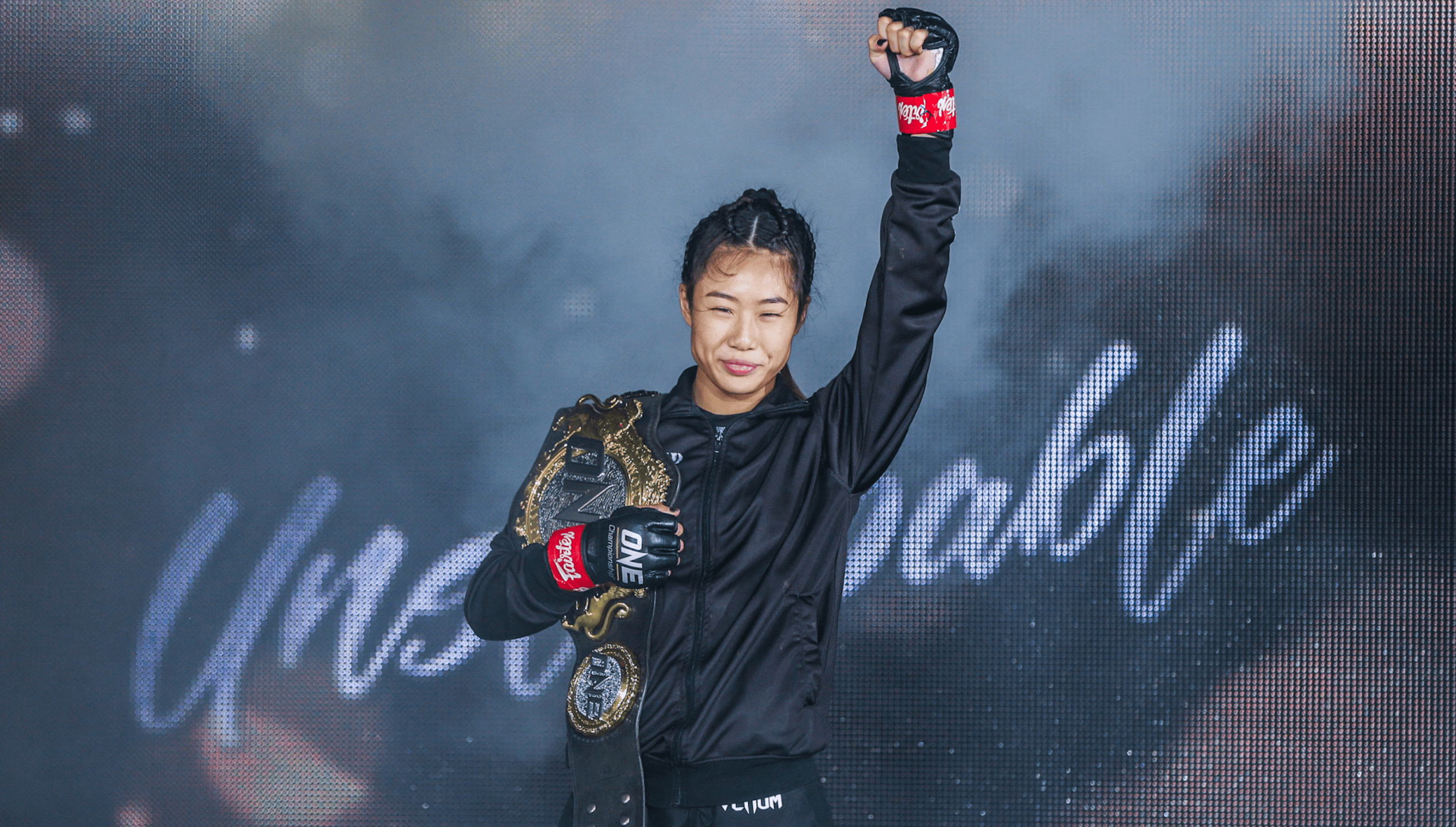 Angela Lee Still Has Sights On Becoming Double Champion