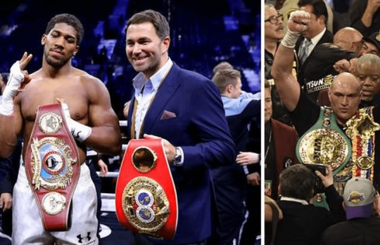 Eddie Hearn Has An Alternative Fight For Tyson Fury