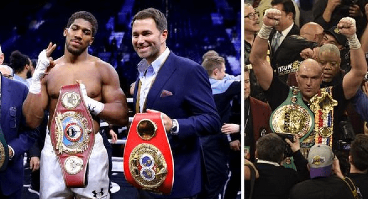 Eddie Hearn Has An Alternative Fight For Tyson Fury