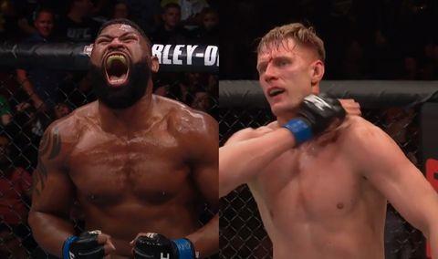 UFC Curtis Blaydes and Alexander Volkov