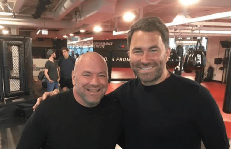Eddie Hearn Wants To Emulate The UFC's Model In Boxing