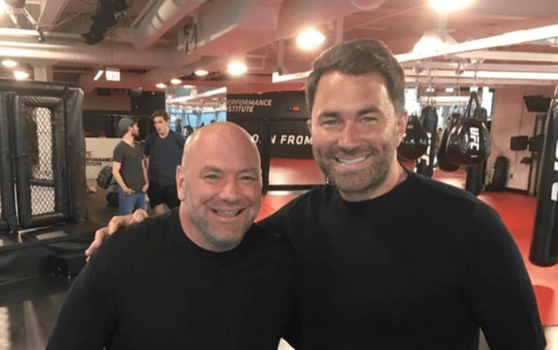 Eddie Hearn On Dana White Carrying On With UFC Shows: Don't Be Mad