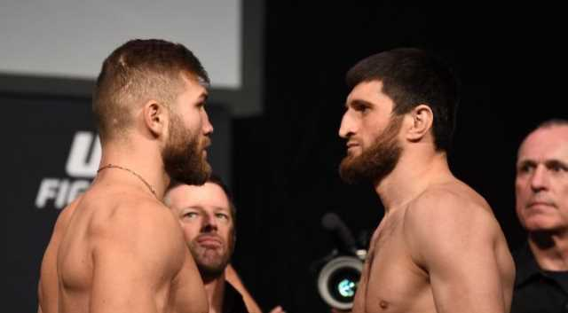 UFC Ion Cutelaba and Magomed Ankalaev