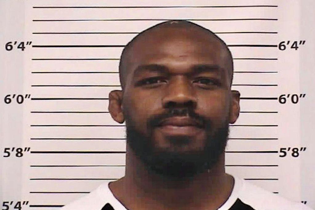 UFC Jon Jones arrested March 2020