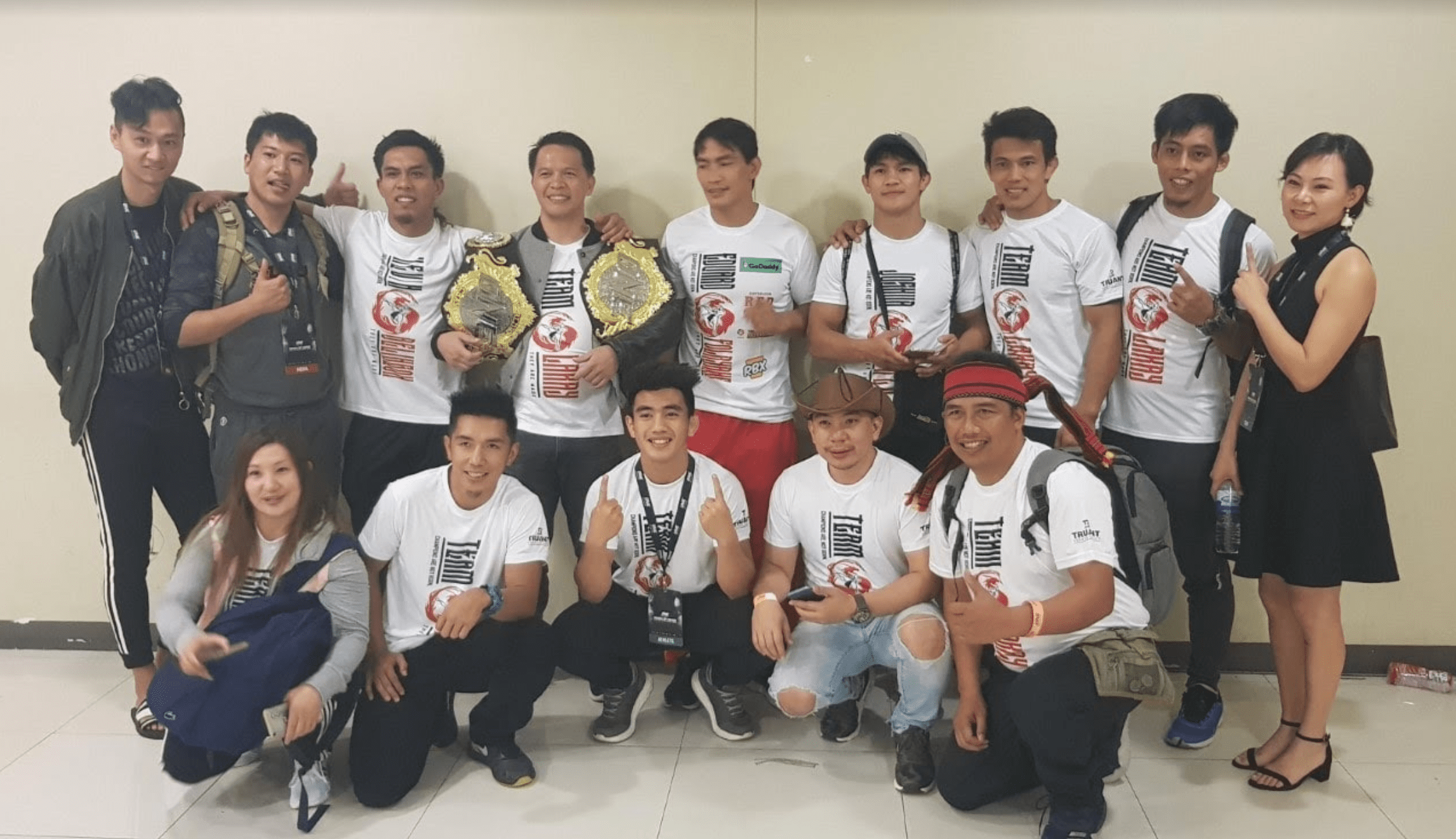 Team Lakay's Mark Sangiao: We Want All The Belts Back