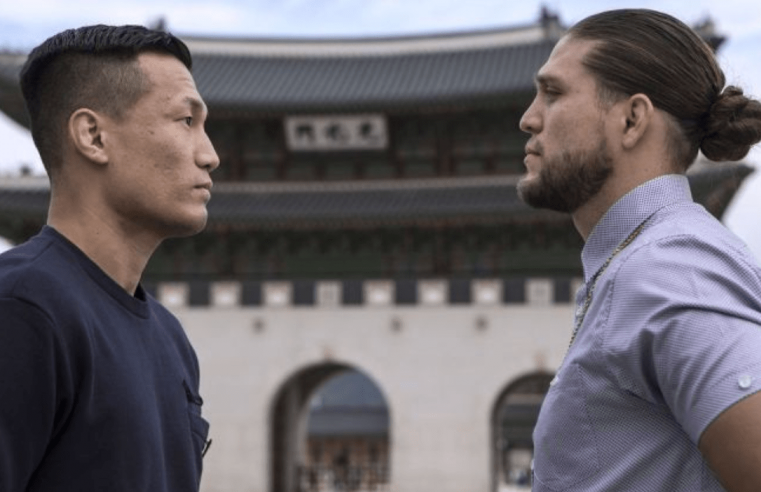 UFC – Brian Ortega On 'The Korean Zombie': We Don't Like Each Other