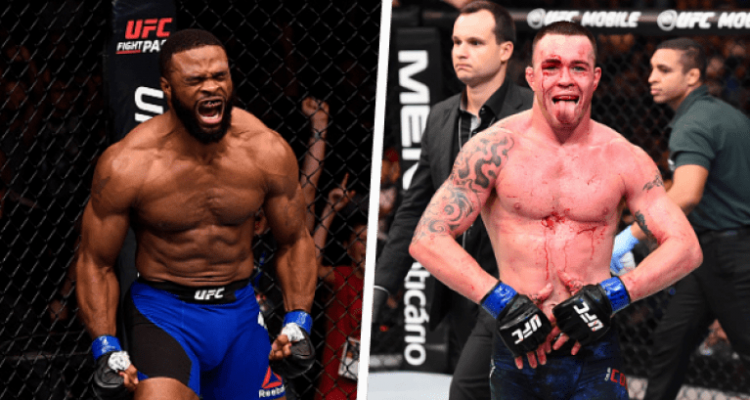 UFC Tyron Woodley and Colby Covington