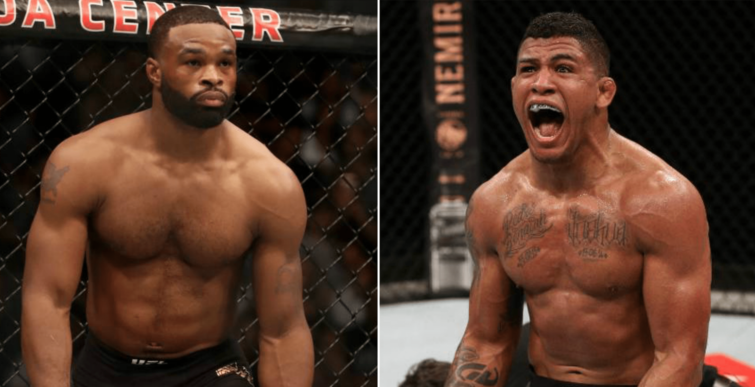 Din Thomas And Gilbert Burns Give Their Side Of Recent Fight Talk