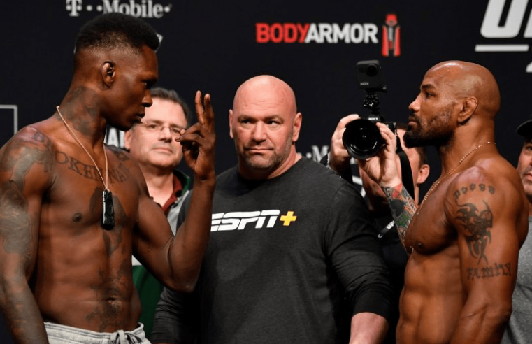 Israel Adesanya Defends UFC 248 Performance Against Yoel Romero