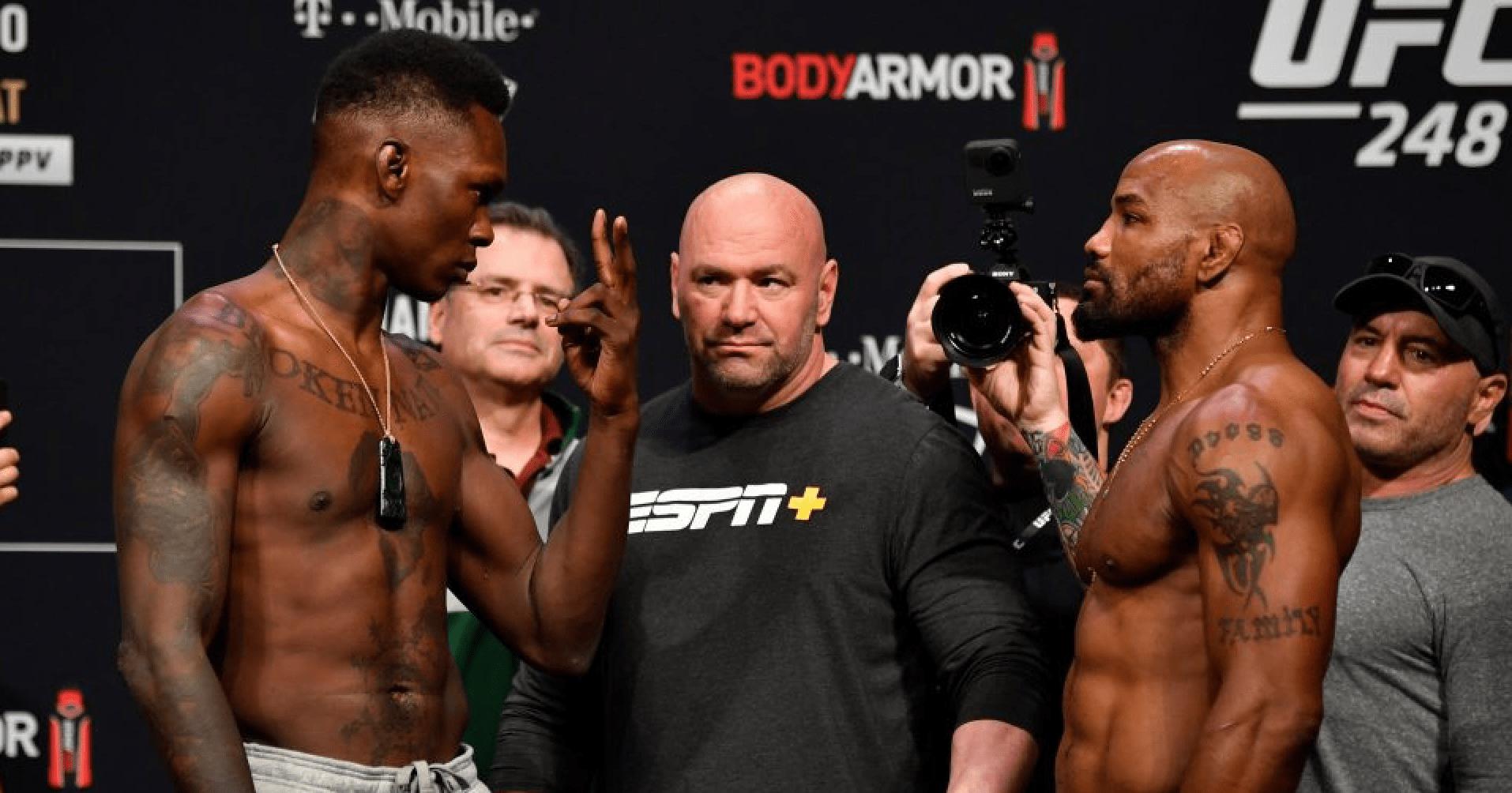 Israel Adesanya Defends UFC 248 Performance Against Yoel Romero