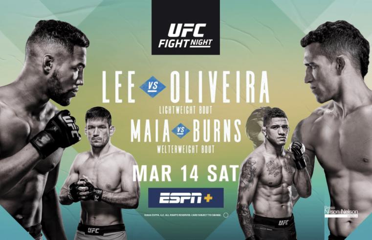 UFC Brasilia: Lee vs Oliveira Results