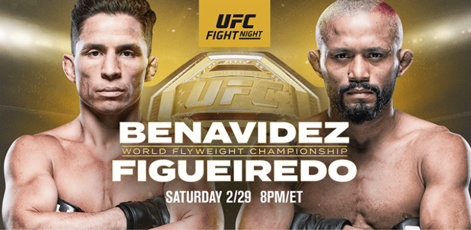 UFC Norfolk: Benavidez vs Figueiredo Results