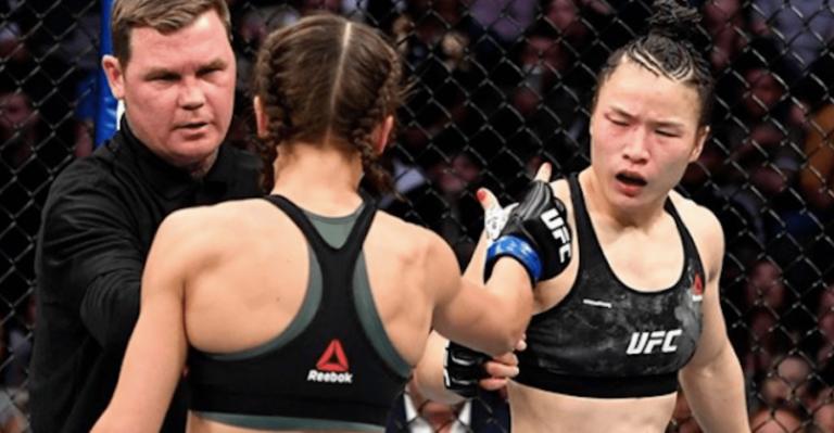 UFC 248 Zhang Weili vs Joanna Jedrzejczyk
