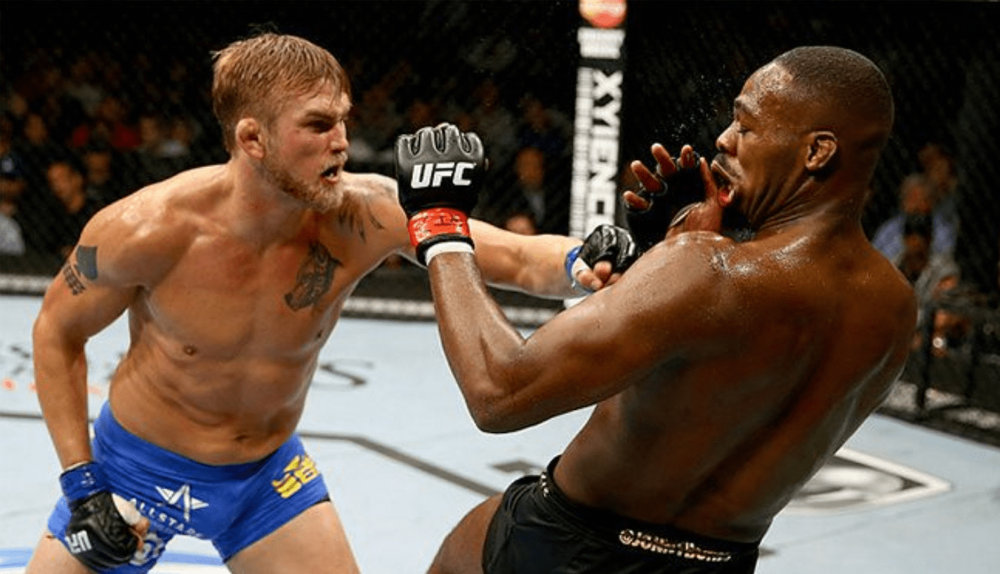 Alex Gustafsson Looks Back At UFC Hall Of Fame Fight With Jon Jones