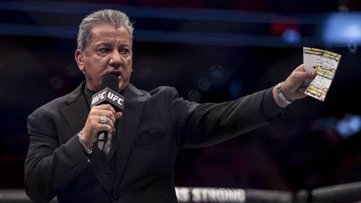 Bruce Buffer Opens Up On His Life As The UFC Announcer