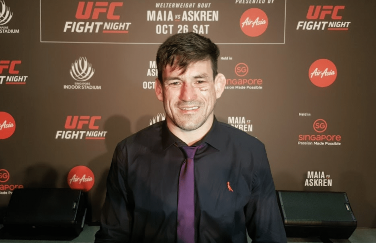 UFC: Demian Maia Reflects On His Legacy And Eyes Fight Island Matchup