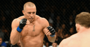 UFC GSP Georges St-Pierre