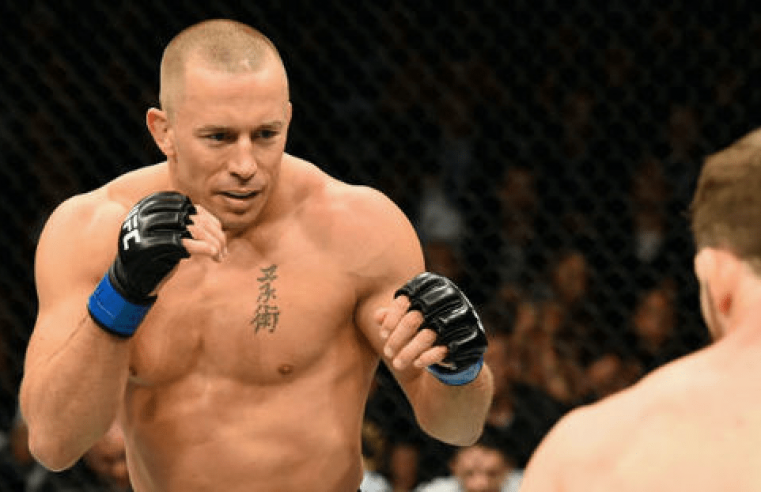 UFC: Georges St-Pierre Names The Scariest Fighter On The Planet