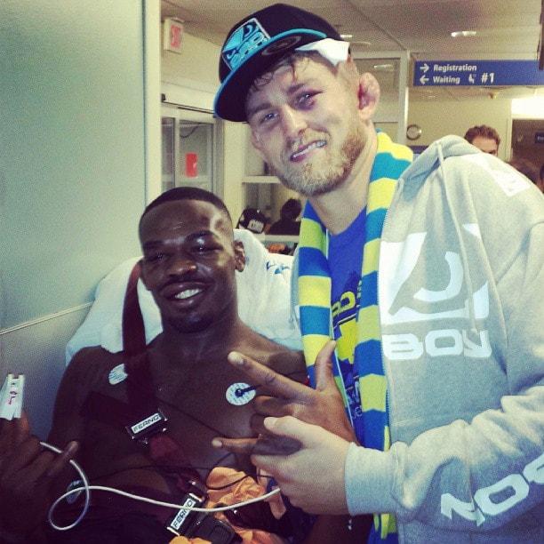 UFC 165 Jon Jones and Alex Gustafsson