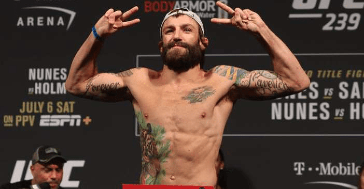 UFC: Michael Chiesa Won't Fight During Coronavirus Lockdown