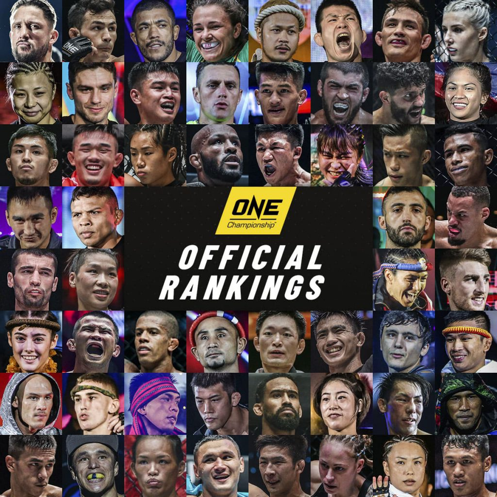 ONE Championship Rankings