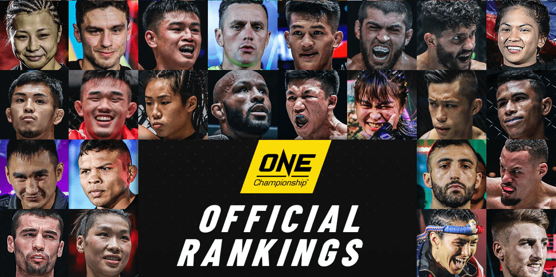 ONE Championship Reveal First Official Rankings