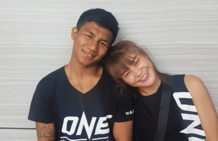 Rodtang Is Mentoring Stamp Fairtex's Younger Brother