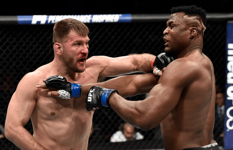 UFC: Stipe Miocic Talks Francis Ngannou vs Jon Jones
