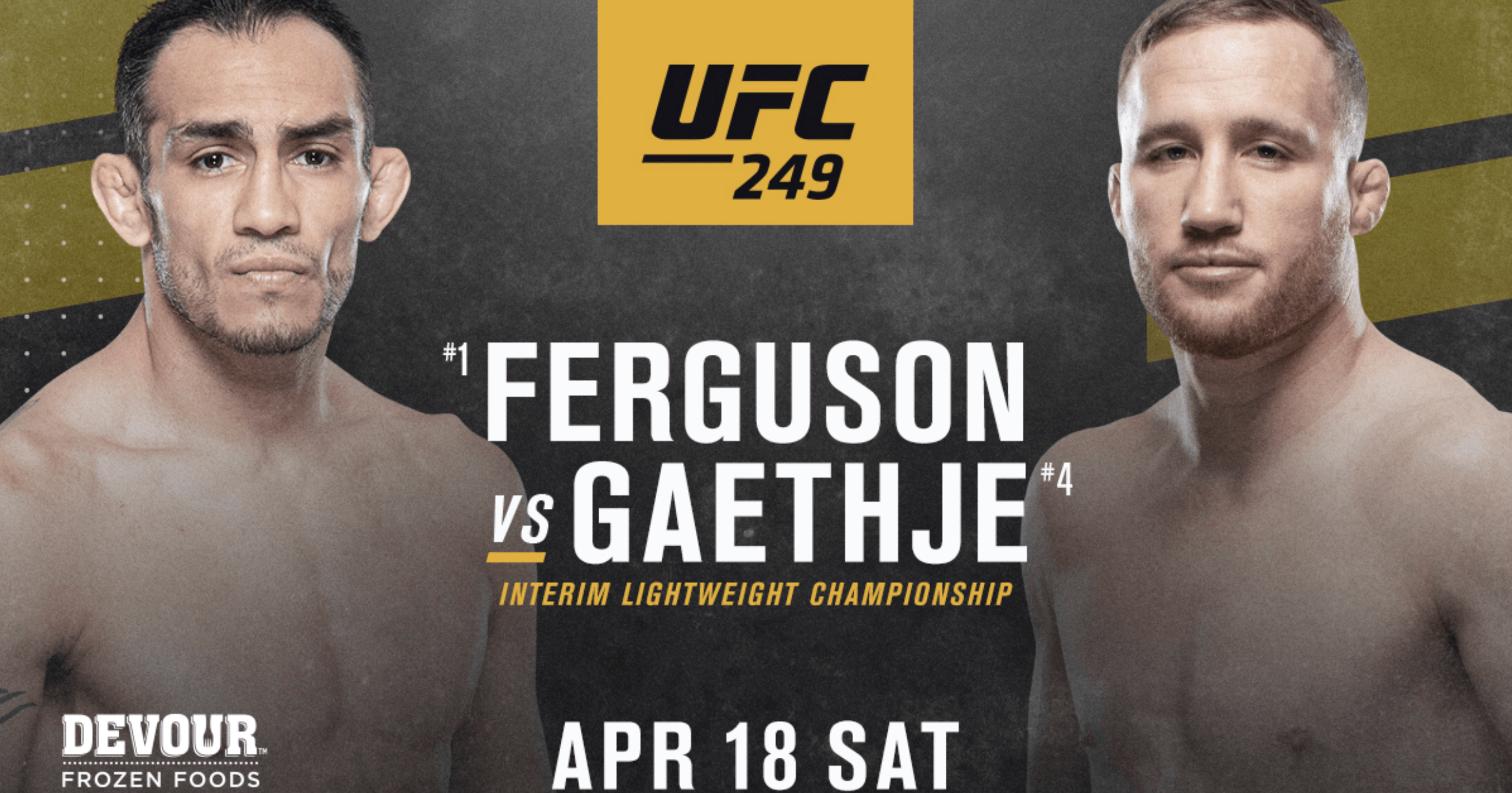 This Is How The MMA World Reacted To The Ferguson vs Gaethje News