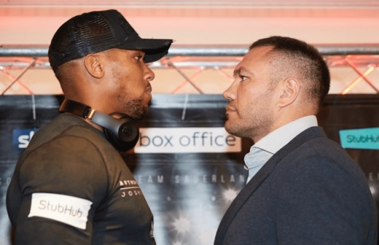 Anthony Joshua vs Kubrat Pulev Gets A Date And Venue
