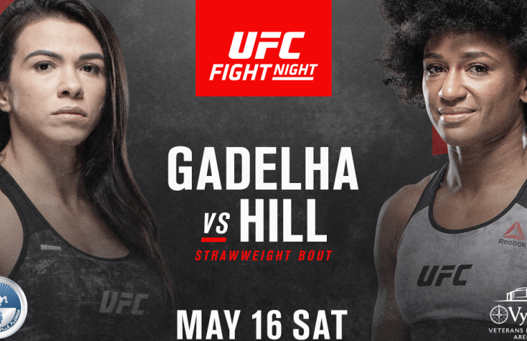 UFC Announce Lineups For May 13th And 16th Cards