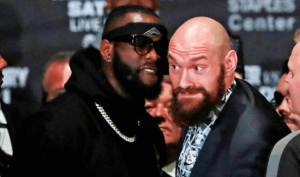 Boxing Deontay Wilder and Tyson Fury