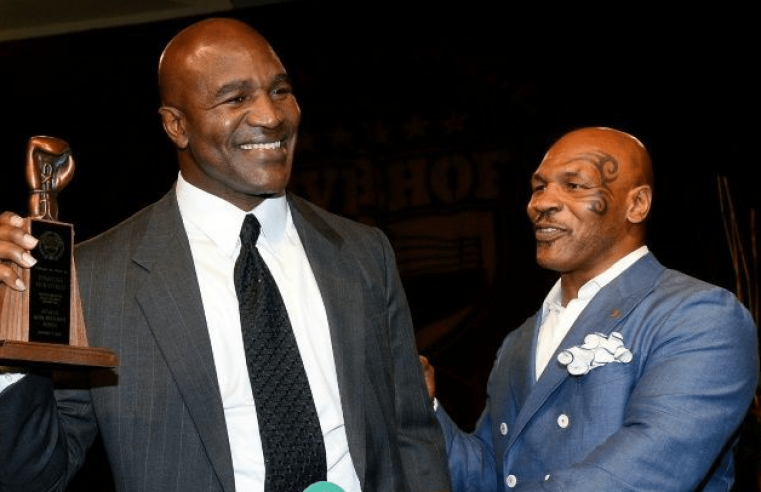 Mike Tyson Wants To Fight Evander Holyfield Again