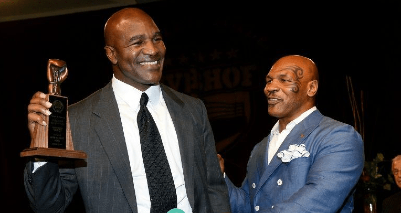 Evander Holyfield Is On Board To Fight Mike Tyson