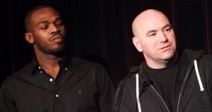 UFC Jon Jones and Dana White