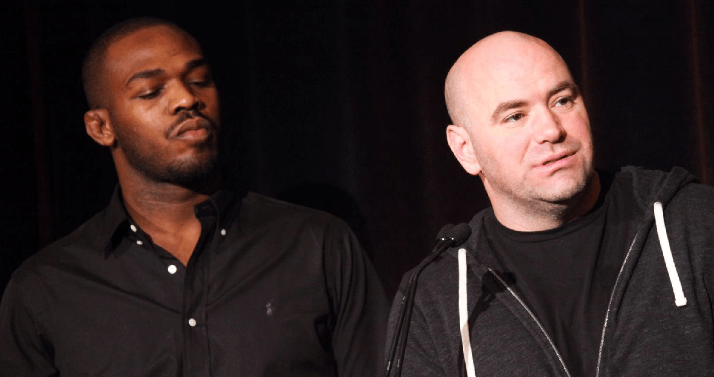 UFC Jon Jones and Dana White