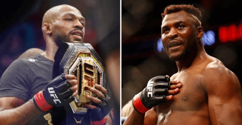 UFC Jon Jones and Francis Ngannou