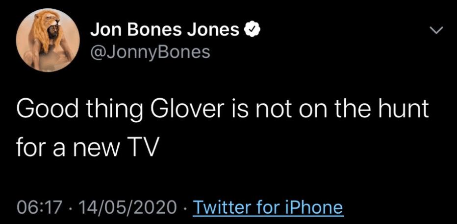 Jon Jones deleted tweet