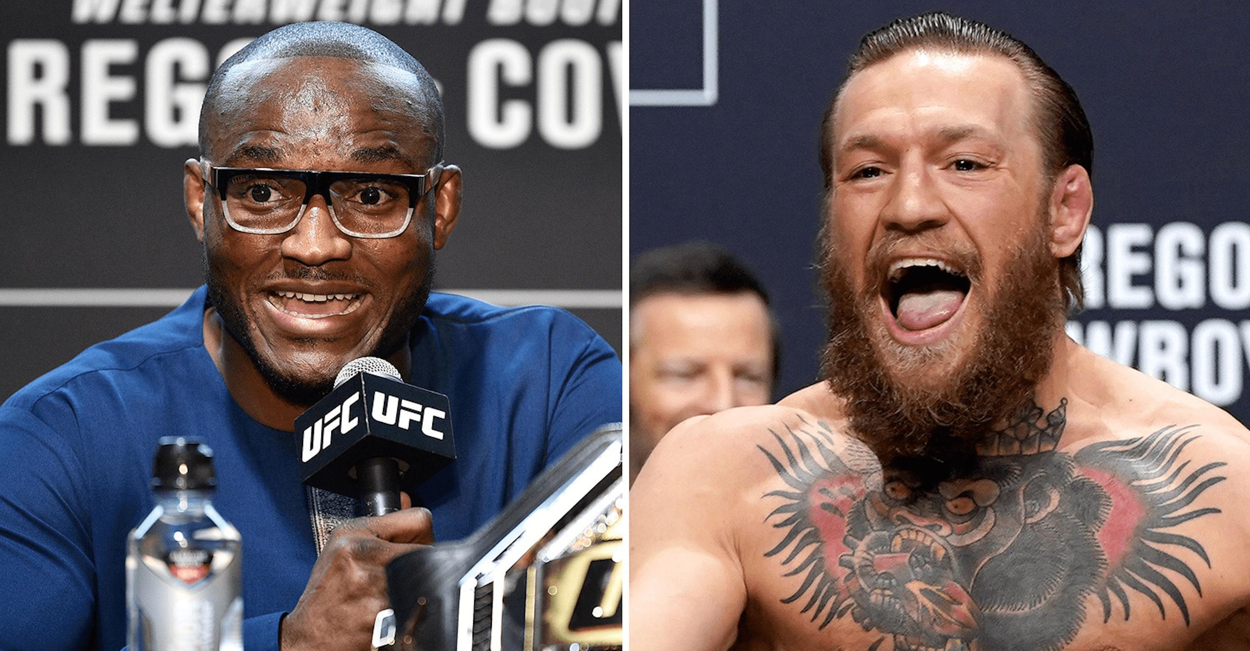 UFC Kamaru Usman and Conor McGregor