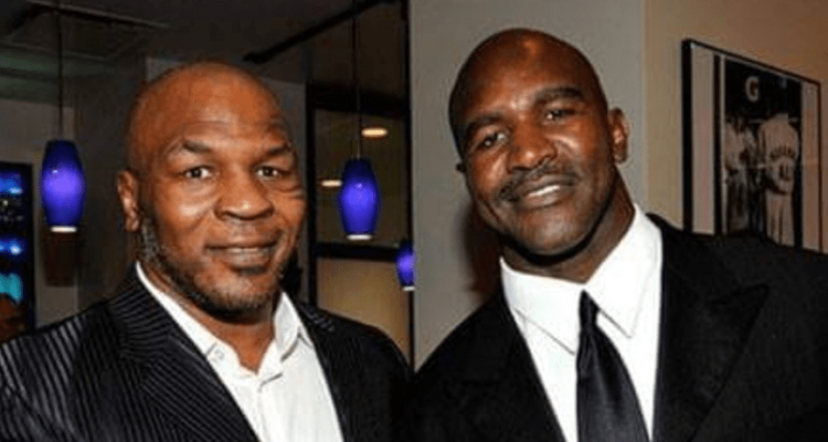 Boxing Mike Tyson and Evander Holyfield