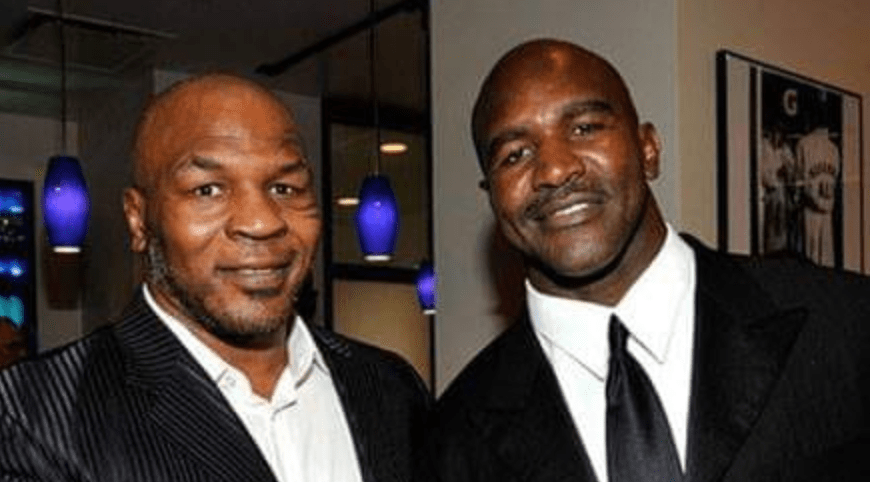 Mike Tyson And Evander Holyfield May Be Setting Up The Trilogy Fight