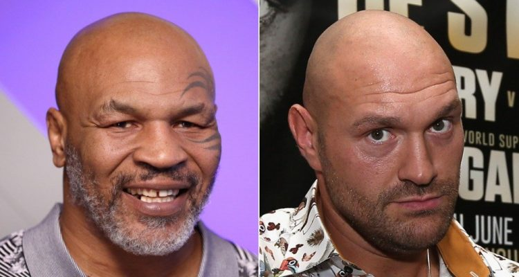 Boxing Mike Tyson and Tyson Fury