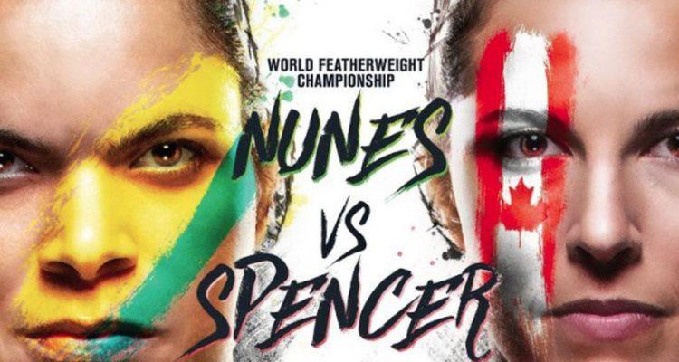 UFC 250 Amanda Nunes vs Felicia Spencer